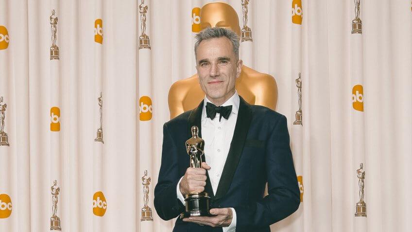 Daniel Day-Lewis 85th Annual Academy Awards Oscars, Press Room, Los Angeles, America - 24 Feb 2013.