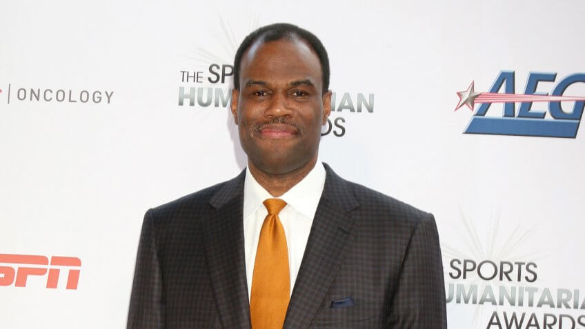 LOS ANGELES - JUL 17: David Robinson at the 4th Annual Sports Humanitarian Awards on The Novo on July 17, 2018 in Los Angeles, CA.