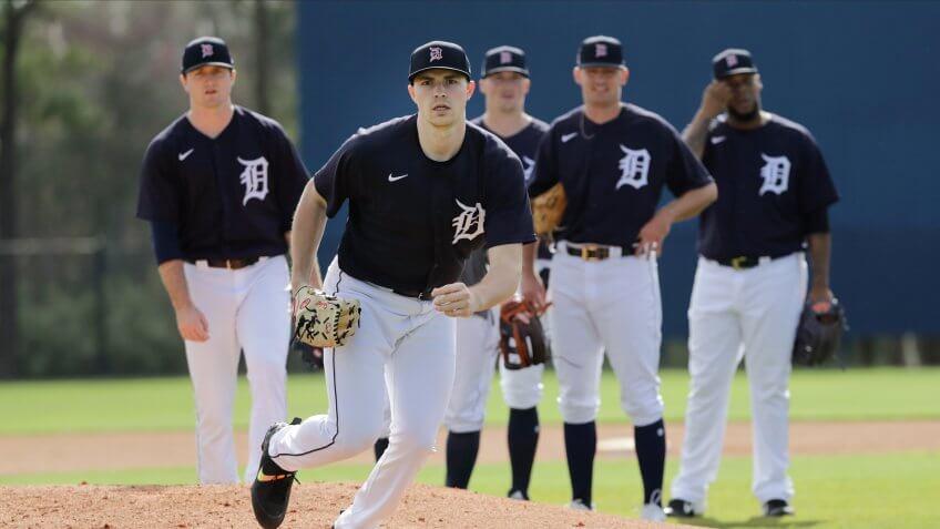 Detroit Tigers, baseball