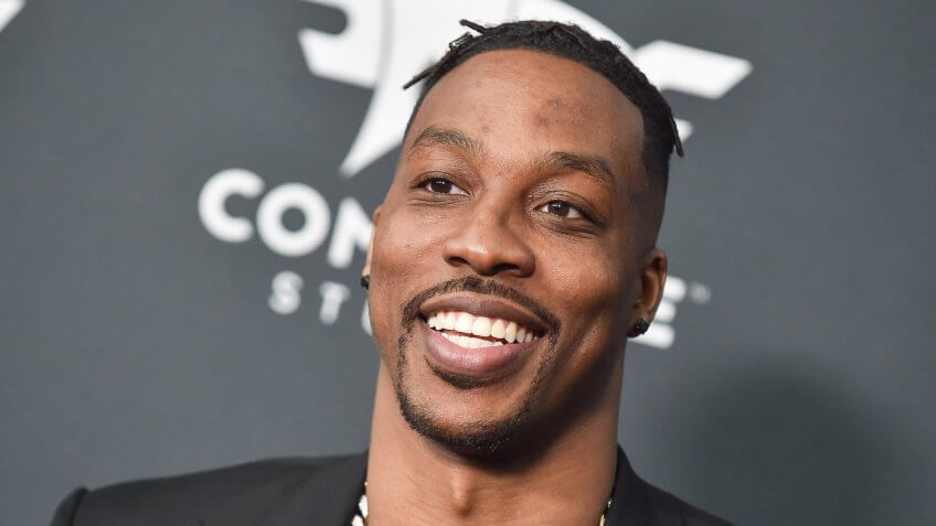"""LOS ANGELES - APR 22: Dwight Howard arrives for the """"Avengers: End Game"""" LOs Angeles Premiere on April 22, 2019 in Los Angeles, CA."""