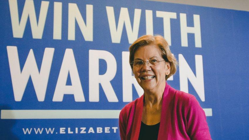Democratic presidential candidate Sen.