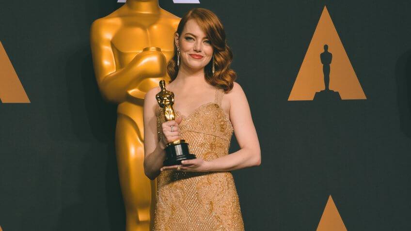 Emma Stone richest Oscar winner