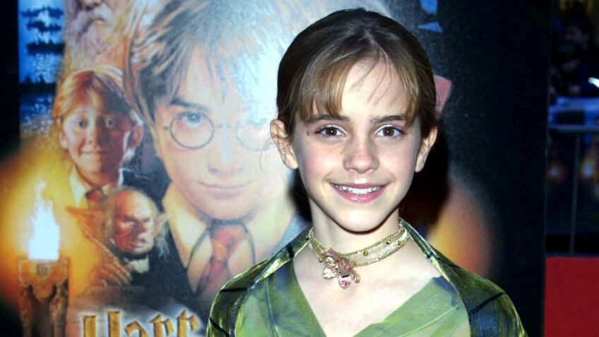 "Emma Watson""HARRY POTTER AND THE PHILOSOPHER'S STONE"" FILM PREMIERE, AT THE ZEIGFELD THEATRE, NEW YORK, AMERICA - 11 NOV 2001."