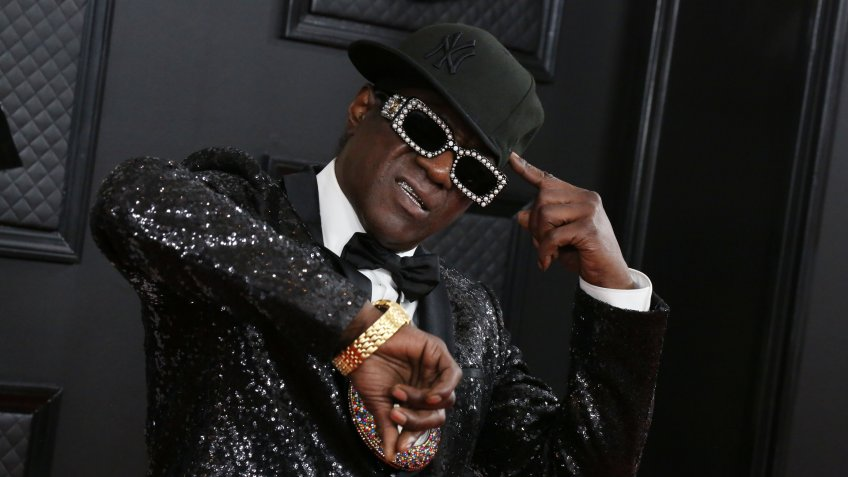 Flavor Flav 62nd Annual Grammy Awards, Arrivals, Los Angeles, USA - 26 Jan 2020.