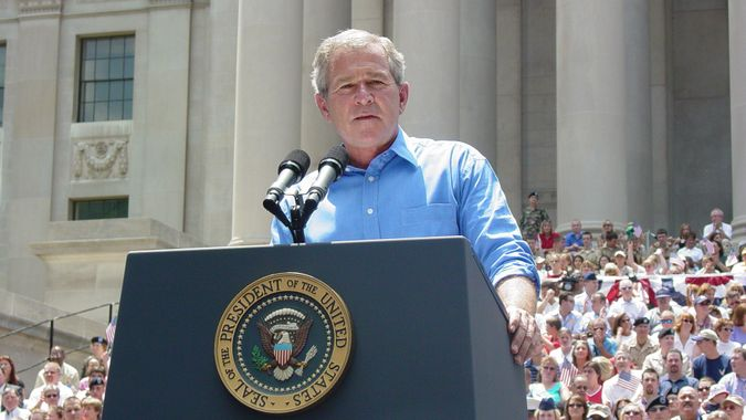 George Bush former president