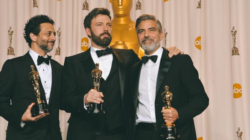 George Clooney richest oscar winner