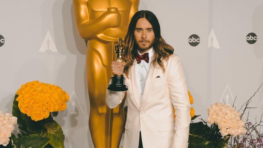 Jared Leto richest oscar winner