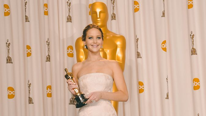 Jennifer Lawrence richest oscar winner