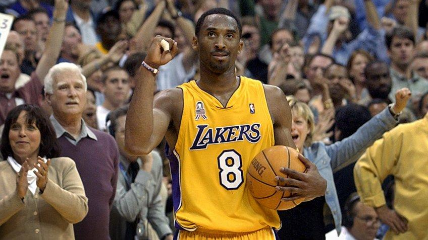 BRYANT Los Angeles Lakers guard Kobe Bryant watches the clock run down the final seconds of Game 5 of their Western Conference semifinal against the San Antonio Spurs, in Los Angeles.