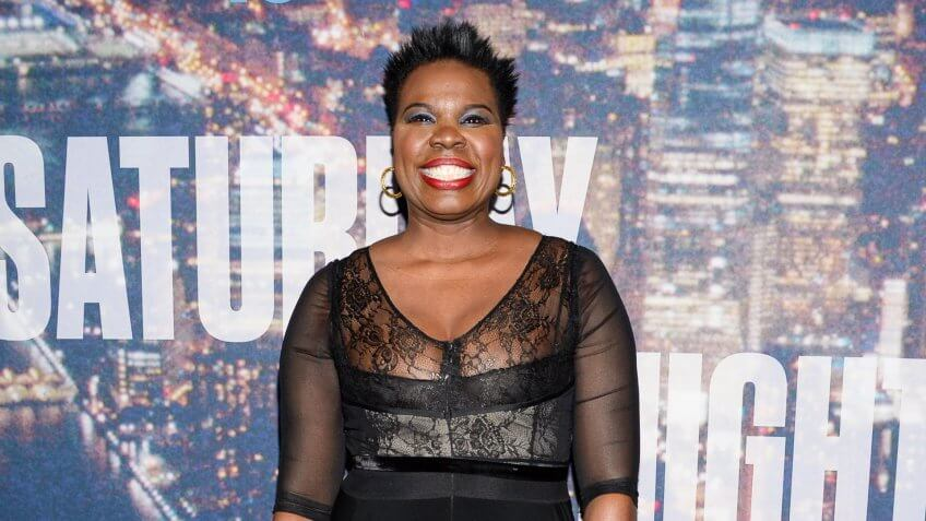 Leslie Jones attends the SNL 40th Anniversary Special at Rockefeller Plaza, in New YorkSNL 40th Anniversary Special - Arrivals, New York, USA.