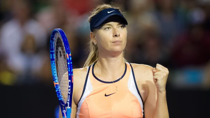 Maria Sharapova athlete
