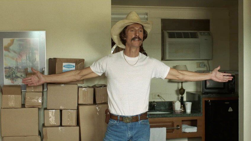 Matthew McConaughey Dallas Buyers Club Oscar Winner