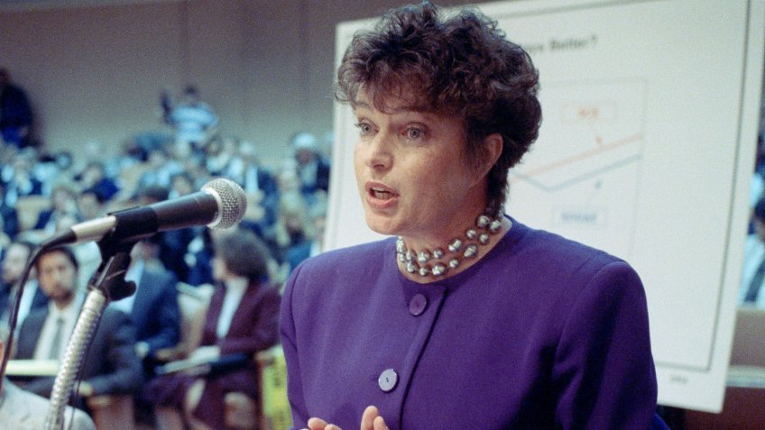 Maureen O'Connor San Diego Mayor Maureen O'Connor testifies before a California Public Utilities Commission hearing in San Francisco, .