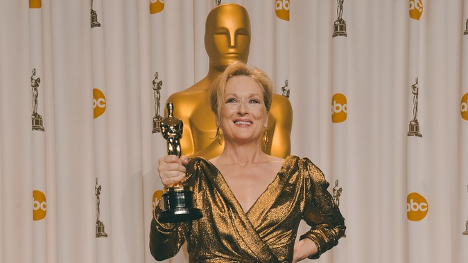 Meryl Streep richest oscar winner