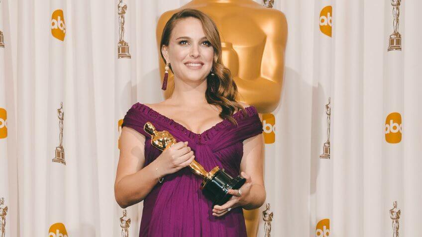 Natalie Portman 83rd Annual Academy Awards, Press Room, Los Angeles, America - 27 Feb 2011.
