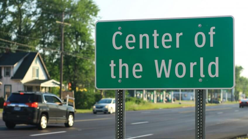 Center of the World, Ohio.