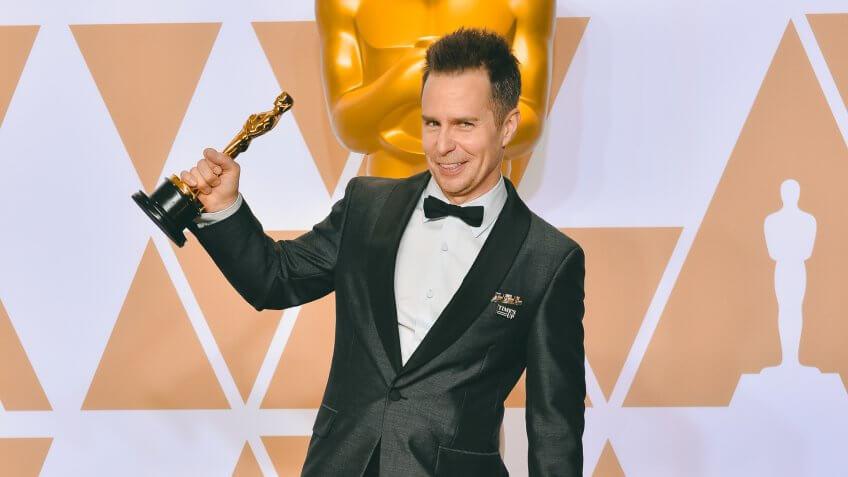 Sam Rockwell richest Oscar winner