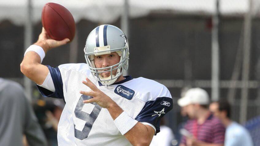 Tony Romo, football