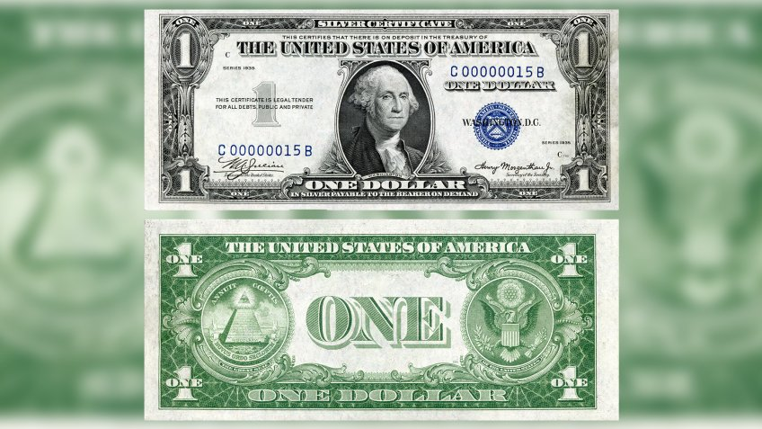 US $1 1935 Silver Certificate