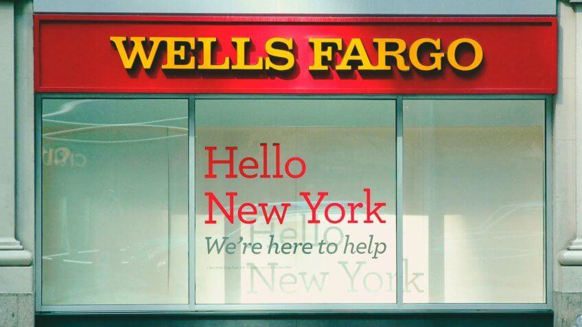Wells Fargo bank financial services
