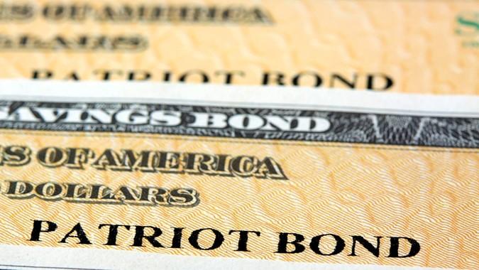 Patriot Bond - United States Treasury Savings Bonds.