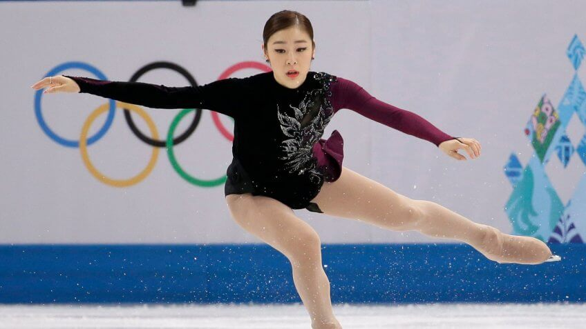 Yuna Kim of South Korea competes in the women's free skate figure skating finals at the Iceberg Skating Palace during the 2014 Winter Olympics, in Sochi, RussiaSochi Olympics Figure Skating, Sochi, Russia.