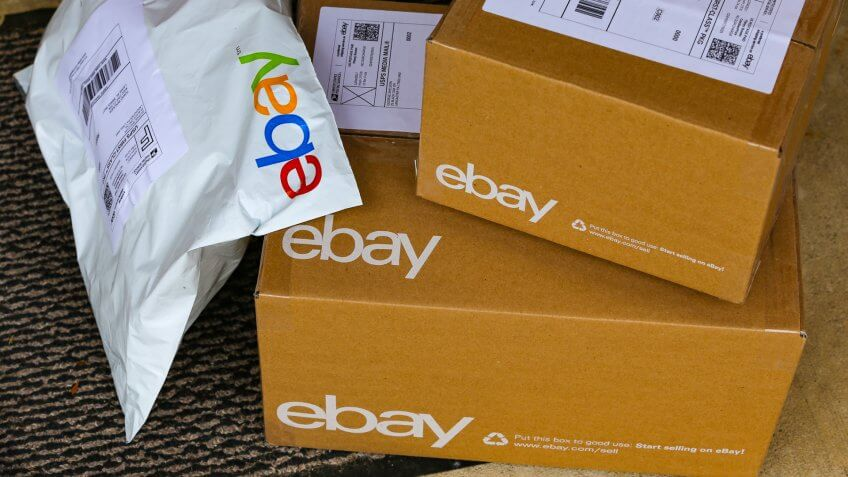 ebay delivery boxes