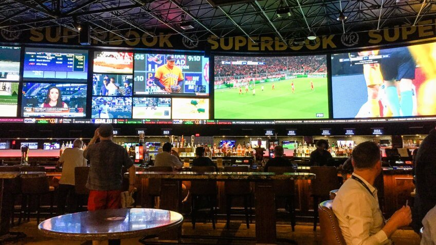 sports betting in Las Vegas Nevada