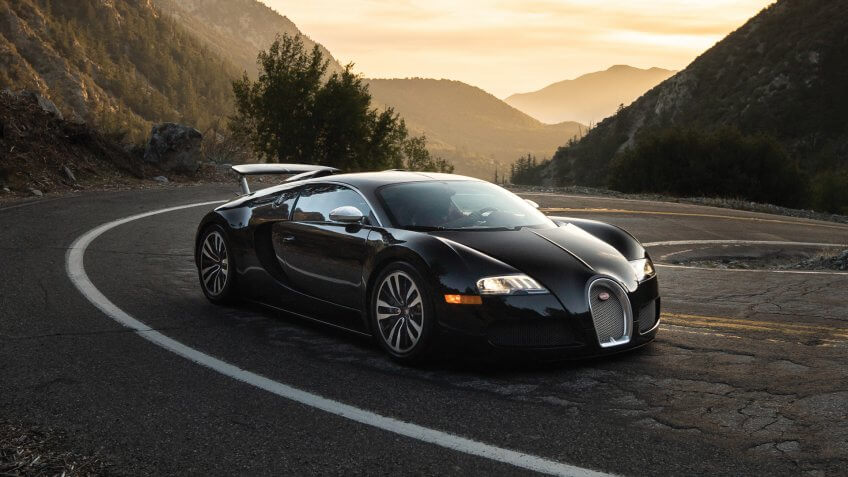 2010 Bugatti Veyron 16.4 'Sang Noir'