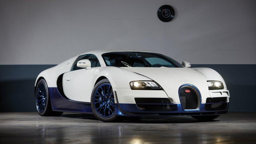 2012 Bugatti Veyron 16.4 Super Sport