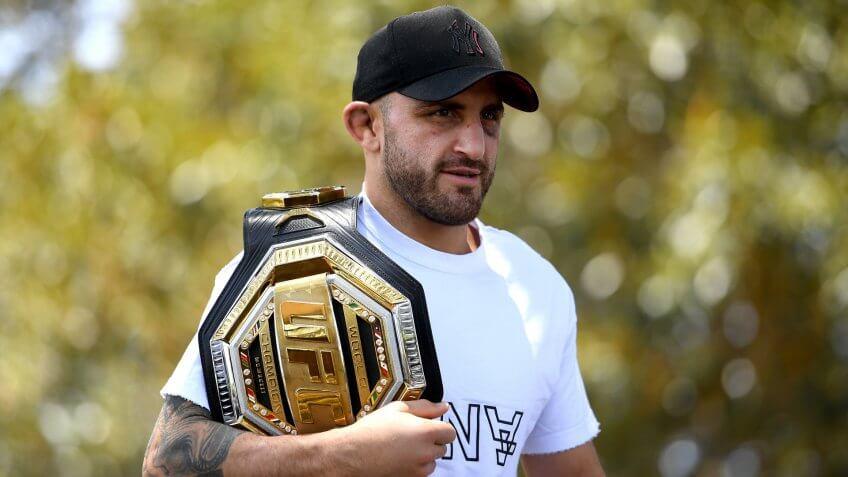 Alexander Volkanovski, UFC, wrestling
