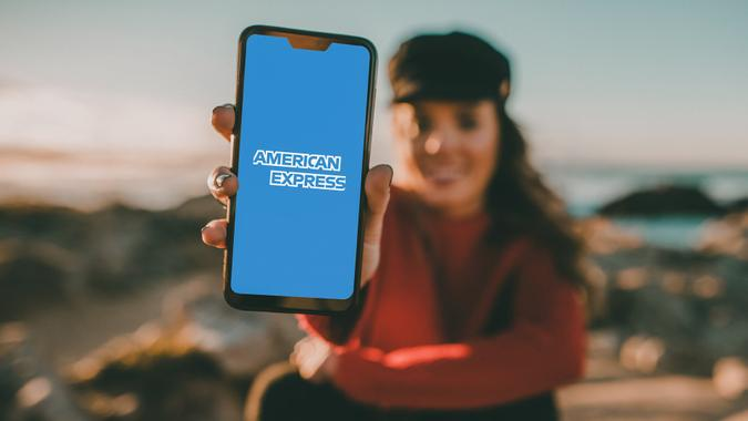 American Express mobile