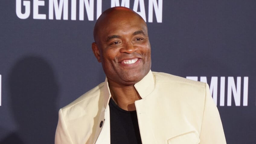 LOS ANGELES, OCT 6th, 2019: MMA Fighter Anderson Silva at the Los Angeles premiere of Gemini Man at the TCL Chinese Theatre in Hollywood, California on Sunday, October 6th, 2019.