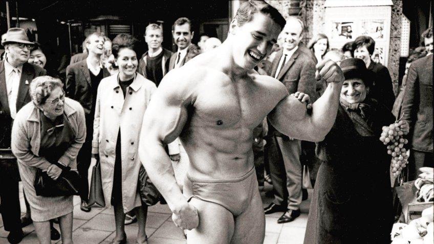 Arnold SchwarzeneggerArnold Schwarzenegger in Munich, Germany - 1967 - 1967.