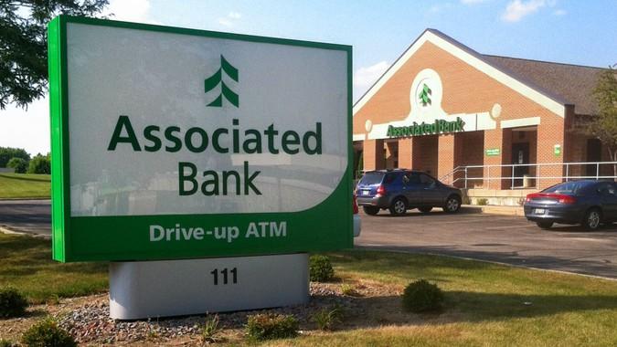 Associated Bank sign