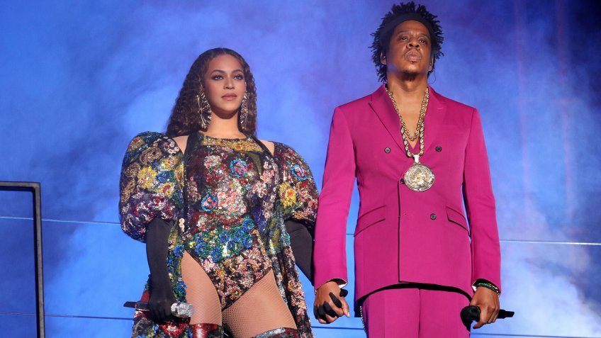 Beyonce Knowles and Jay ZGlobal Citizen Festival: Mandela 100, Show, Johannesberg, South Africa - 02 Dec 2018.