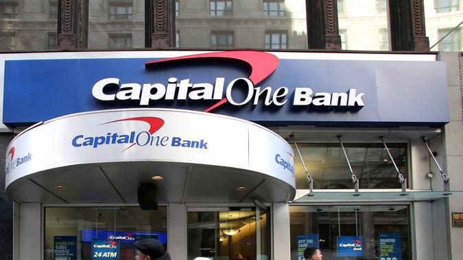 Capital One bank financial services