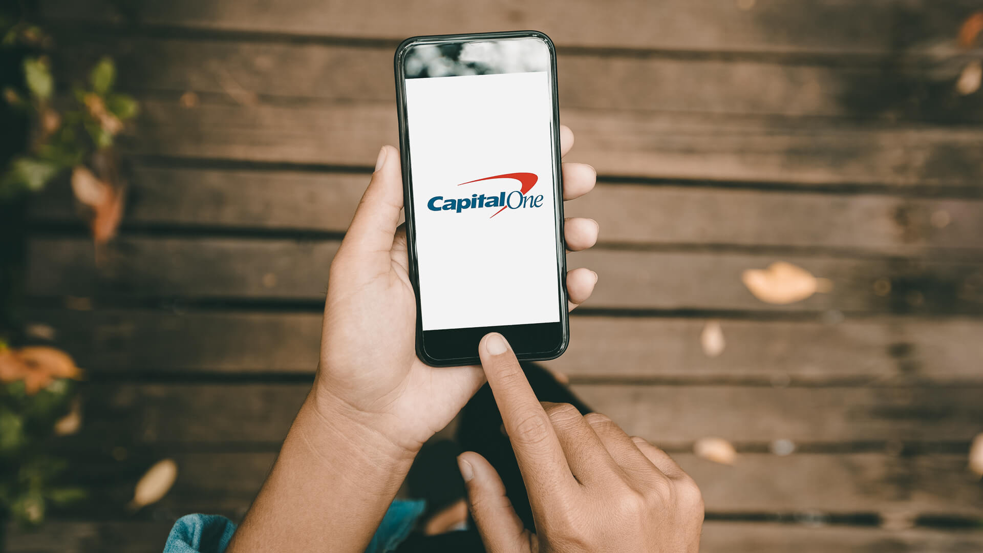 Capital One phone app