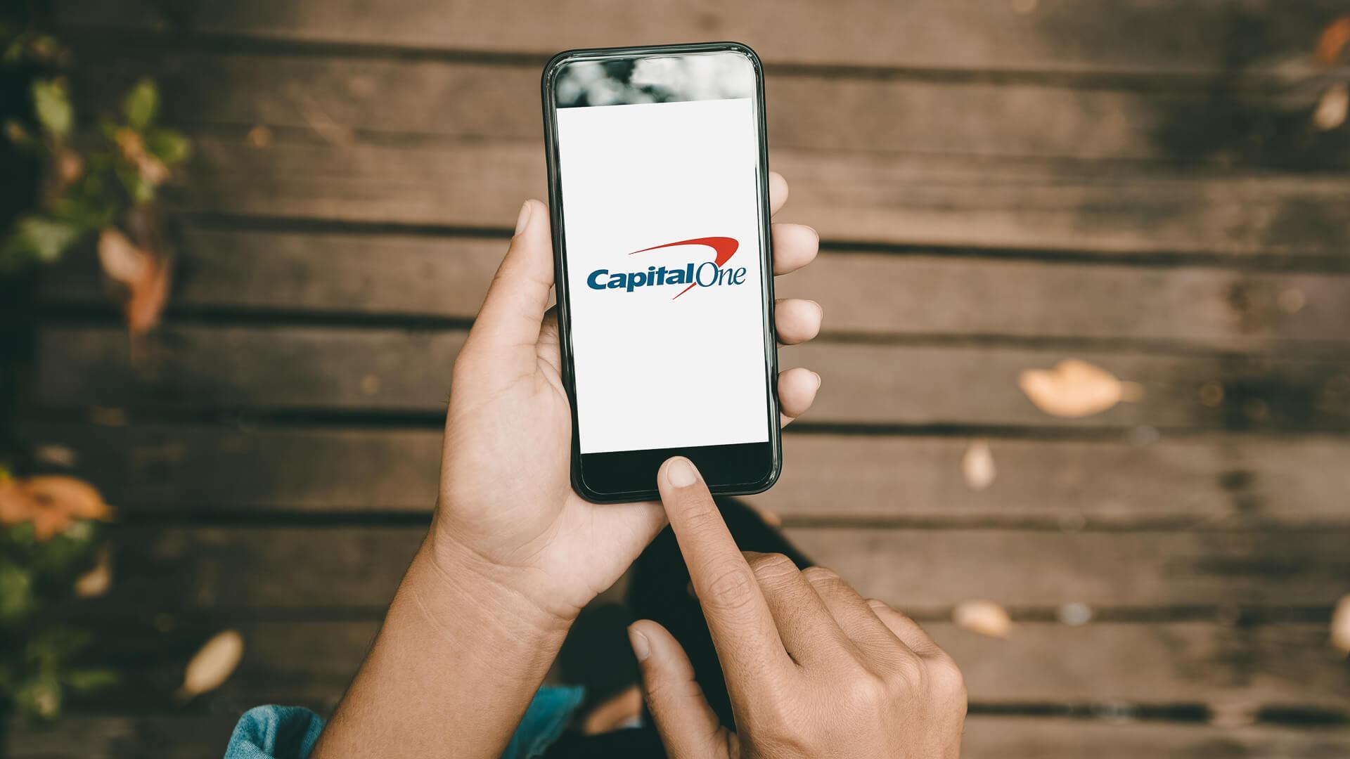 Capital One phone app