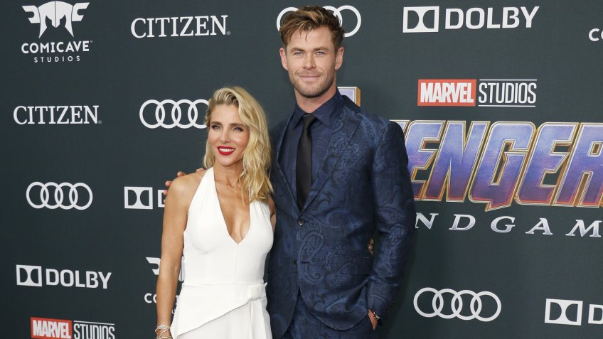 Chris Hemsworth and Elsa Pataky richest celebrity couples