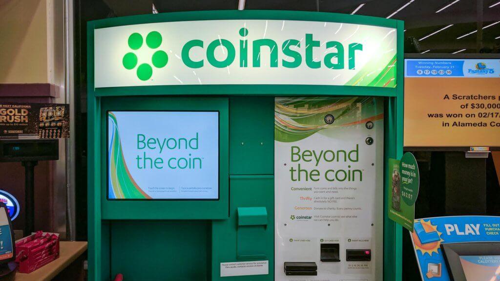 coin change machine near me