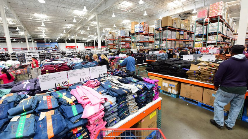 NEW YORK CITY - SEPTEMBER 30 2017: Costco stores joined other national retailers in offering an emergency survival kit for $1000.