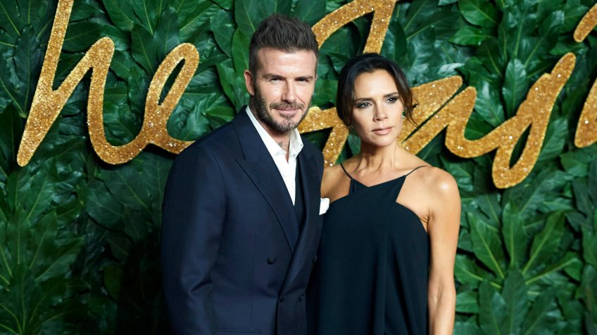 David Beckham and wife Victoria BeckhamThe Fashion Awards, London, United Kingdom - 10 Dec 2018.