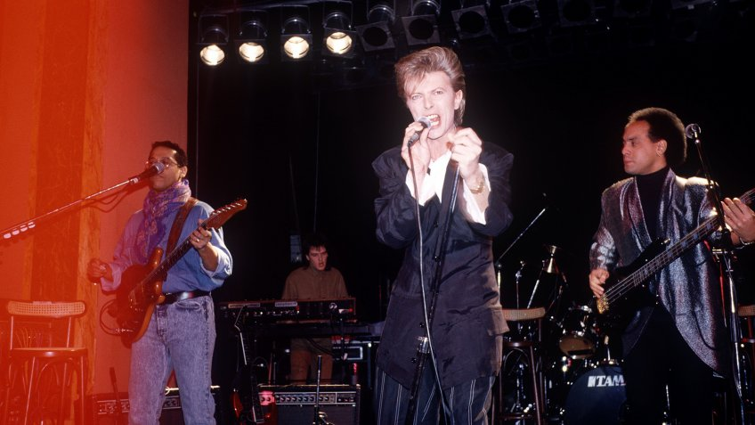 David BowieDavid Bowie Launches his Glass Spider World Tour, London, Britain - Jul 1987.