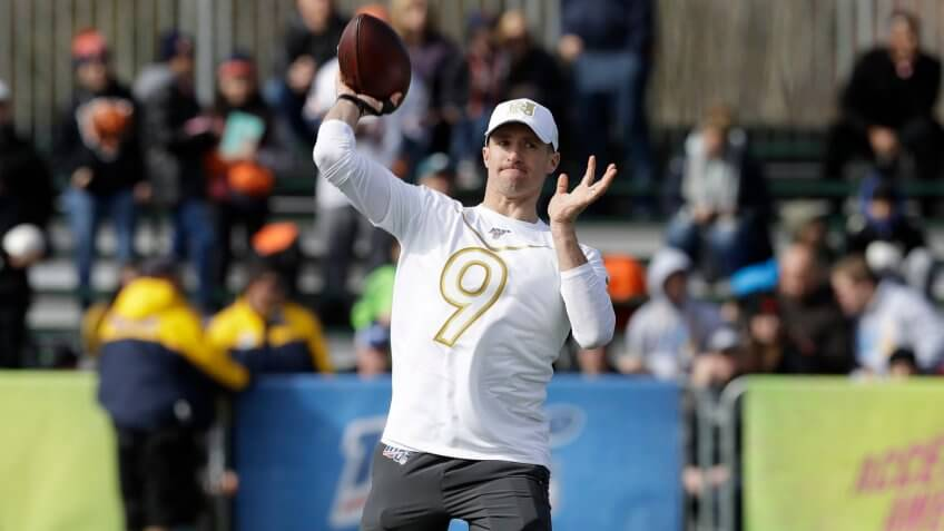 Drew Brees, football, NFL