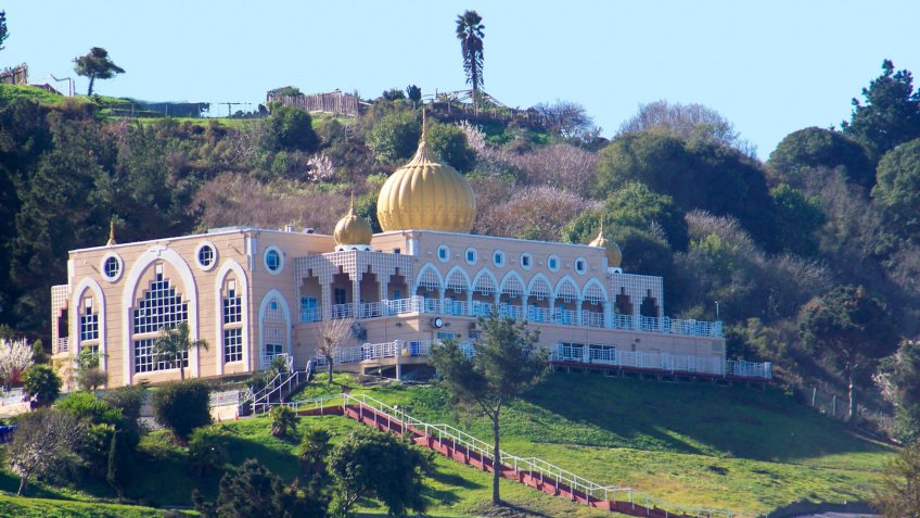 Sikh temple located in El Sobrante, California