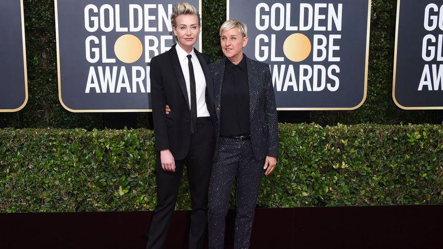 Portia de Rossi, Ellen DeGeneres.