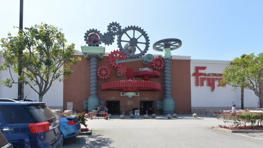 Fry's Electronics in the City of Industry, California