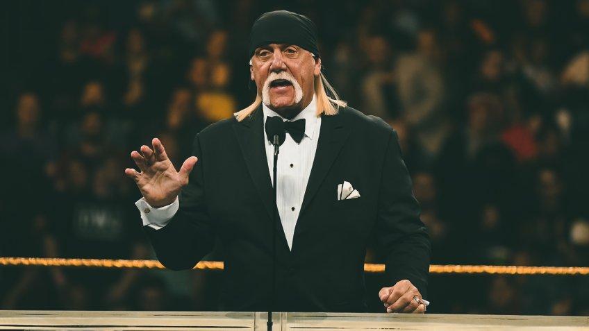 Hulk Hogan 2019 WWE Hall Of Fame Ceremony, New York City, USA - 06 Apr 2019.