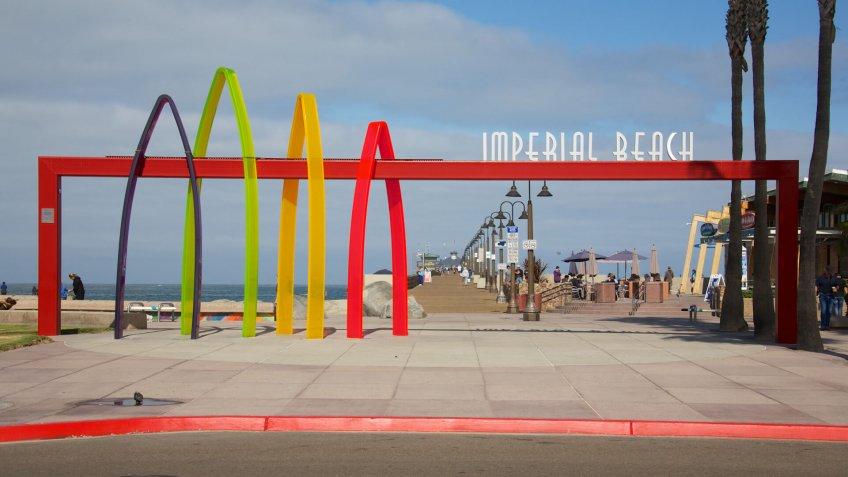 IMPERIAL BEACH, CALIFORNIA - June 3, 2015: Imperial Beach is a residential beach city in San Diego County.